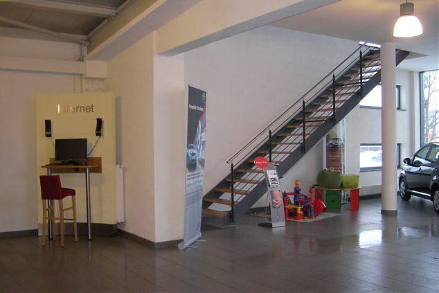 Erweiterung Autohaus -